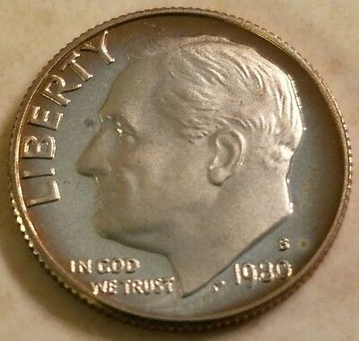 1980-S 10C (Proof) Roosevelt Dime