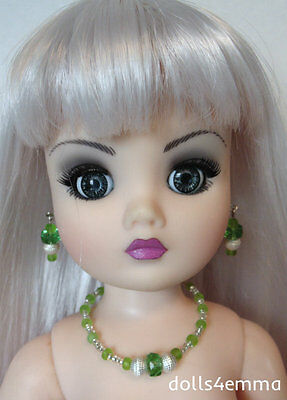 """OOAK 21"""" CISSY DOLL JEWELRY Peridot may fit other large fashion dolls - NO DOLL"""