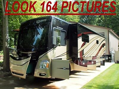 1 1/2 Bath Fleetwood Discovery Not Thor Diesel Motorhome Class A Rv Camper Bus