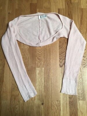 Harmonie Long Sleeve Dance Ballet Cover Up Sweater Pink