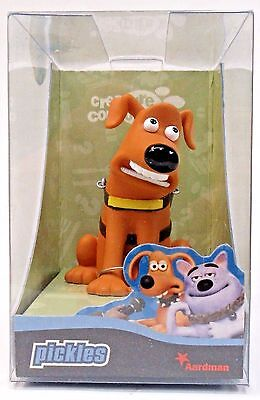 PICKLES THE GUIDE DOG Aardman Creature Comforts resin cast animation figure MIB
