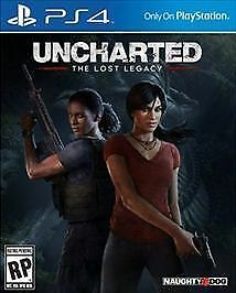 used Uncharted: The Lost Legacy (Sony PlayStation 4, 2017) PS4