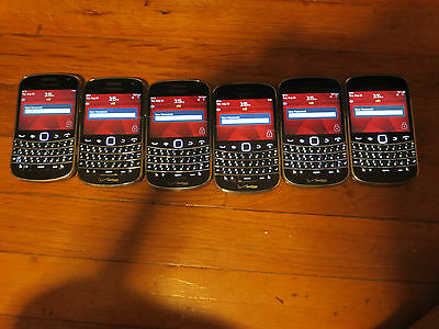 lot of 6 BlackBerry 9930 Bold Verizon