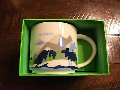 Starbucks Alaska You Are Here (YAH) 14 Oz. Mug New In Box