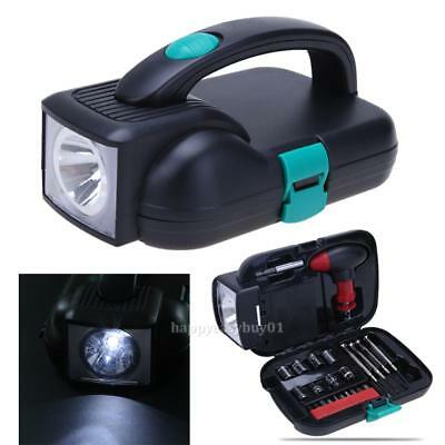 Portable Alloy Steel Repairing Tool Combination Kit with LED Light For Home Car