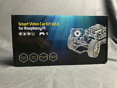 SunFounder Smart Video Car Kit for Raspberry Pi  with Android App  (Black)