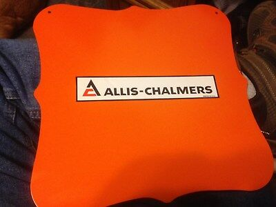 "Allis Chalmers 12"" x 12""  Homemade Sign"