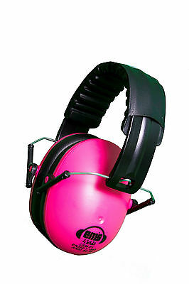 PINK Ems for Kids Earmuffs/Ear muffs. New and improved!