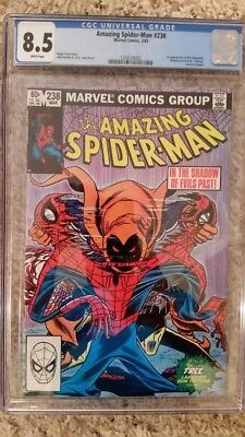 Amazing Spider-Man 238 CGC 8.5 white pages  Hobgoblin 1st appearance