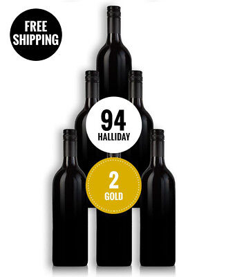 Secret 94 Point Mclaren Vale Shiraz 2015 (6 Bottles)