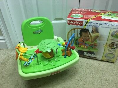 Fisher Price Rainforest Travel Booster Seat