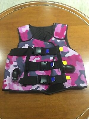 Respirtech Incourage Airway Clearance Therapy System Vest Size 40 Great Cond!