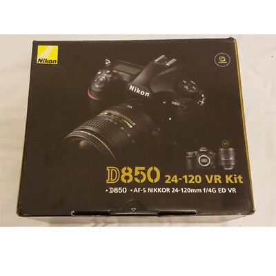 Nikon D850 DSLR with AF-S 24-120mm f4G ED VR Lens Kit (Multi Language) Wty