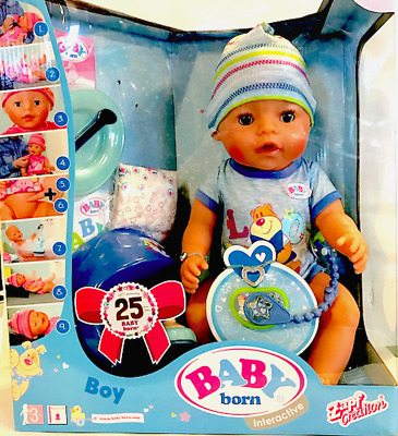 NEW Baby Born Interactive Doll Boy from Purple Turtle Toys