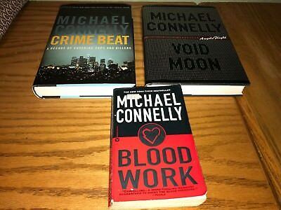 "Michael Connelly 3 Book Lot of ""stand alone"" books, 2 hardcover & 1 paperback"