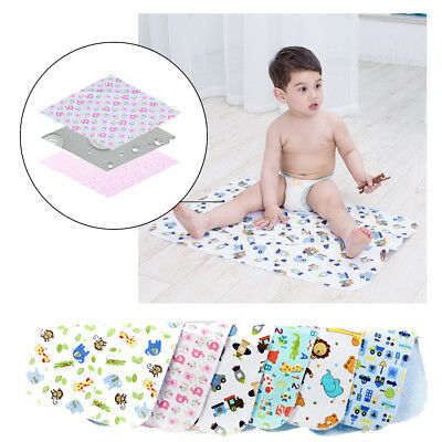 Cute Baby Changing Mat Cover Soft Pvc Waterproof Diaper Nappy Change Pad