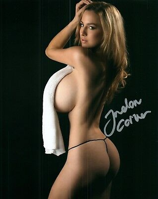 Jordan Carver Glamour Model Signed 8x10  Photo  #127A  Zoo Weekly Maxim Mexico