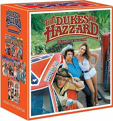 The Dukes of Hazzard: Complete Collection Seasons 1-7 +2 Movies DVD Box Set New