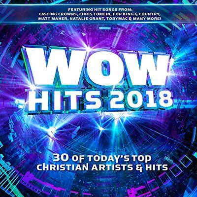 Wow Hits 2018 Cd - Various Artists [2 Discs] - New Unopened - Christian