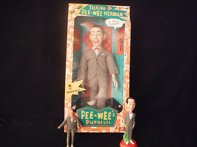 "1987 Matchbox Peewee Herman Playhouse 17"" Talking Works, Excellent + Box"