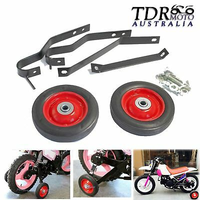 New Motorcycle Training Wheels For Yamaha Pw50 Pw Py 50 Pee Wee Rear Side Tdr