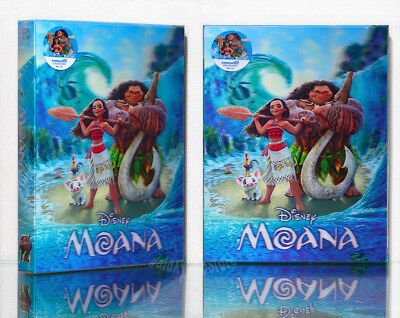 MOANA (2016) [Blu-Ray] 2D+3D, Limited 750, (STEELBOOK), Lenticluar Box~