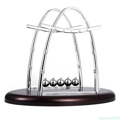 Newton Cradle Balance Ball Physics Science Fun Desk Toy Access Home Decor Newest