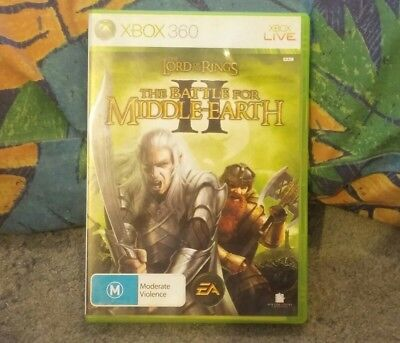 Lord of the Rings Battle for Middle-earth II (Microsoft Xbox 360 2006)