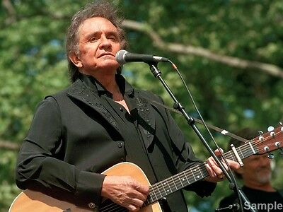 Johnny Cash Legendary Country Music Star 10x8 Glossy Music Photo Print Picture