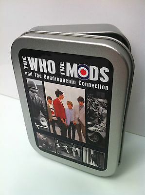 THE WHO MODS QUADROPHENIA Musik Scooter Zigarette Tabak Aufbewahrung 57ml
