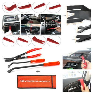 14X Strong Nylon Door Molding Dash Panel Removal Tool Trim Clip Pliers for Car