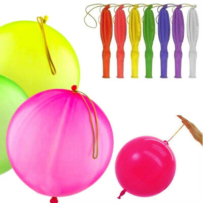 50X Large Latex Punch Balloons Fillers Goods Kids Loot Bags Floating Party Decor