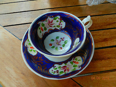 gaudy cup and saucer