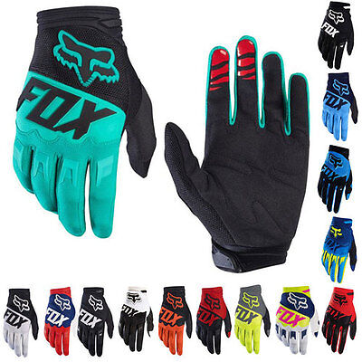 Men's Racing Motorcycle Motorbike Motocross Cycling Bike Sports FOX Gloves M-XL
