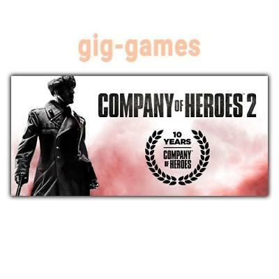 Company of Heroes 2 PC spiel Steam Download Digital Link DE/EU/USA Key Code Gift
