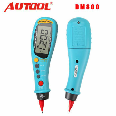 Digital Multimeter Tester LCD AC DC Ammeter Voltmeter AutoRang 6000 Counts DM800