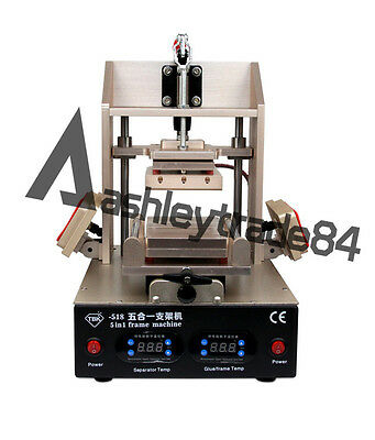 New Frame LCD Screen Separator Repair Machine Glass Removal for iphone