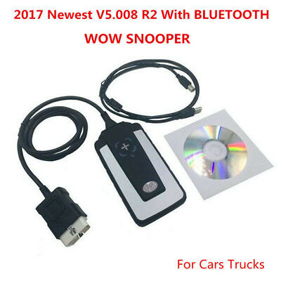 2017 WOW Snooper V5.008 R2 Software Diagnostic for Cars and Trucks - BLUETOOTH