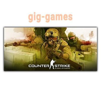 Counter-Strike: Global Offensive PC spiel Steam Download Link DE/EU/USA Key Code