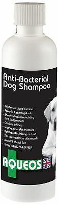 Aqueos Microbial Water Based Anti Itch Dog Sensitive Gentle Pet Shampoo 200ml