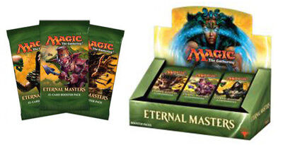 MAGIC THE GATHERING Eternal Masters Booster Box BRAND NEW SEALED