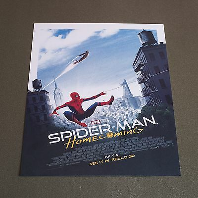 SPIDERMAN HOMECOMING Movie - Marvel Poster - EXCLUSIVE - ODEON - 2017 - RARE