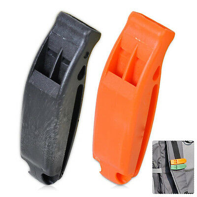 Outdoor Marine Safety Whistle Boating Camping Mountain Emergency Siren Tool .