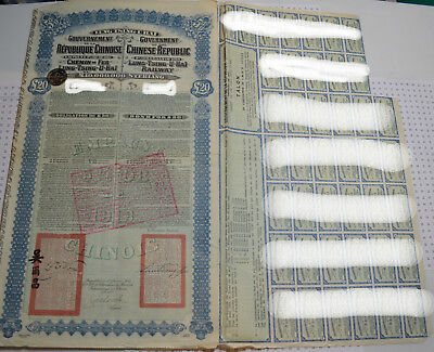 Chinese bond LTUH 1913 (super petchili) paypal and shipping free!