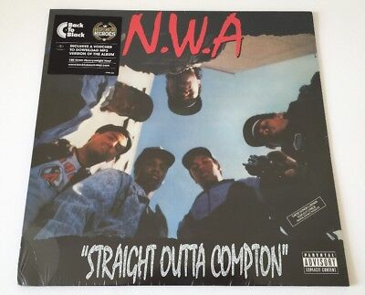 N.W.A Straight Outta Compton 180 gram Vinyl LP New and Sealed + Download
