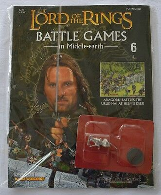 Lord Of The Rings:Battle Games In Middle-Earth–Issue #6 Magazine with miniatures