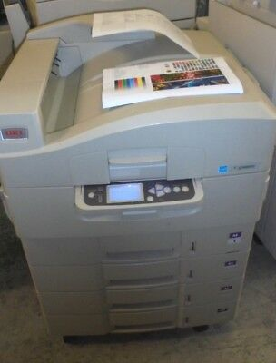 OKI C9850 TOP QUALITY A3 / A4 COLOUR POSTSCRIPT PRINTER with only 20,351 copies