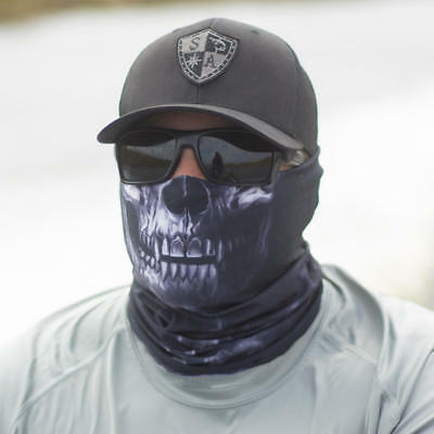 Salt Armour Hydro Skull StealthTech Camo Face Shield Sun Mask Neck Balaclava