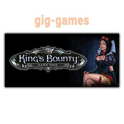 King's Bounty: Dark Side PC spiel Steam Download Digital Link DE/EU/USA Key Code