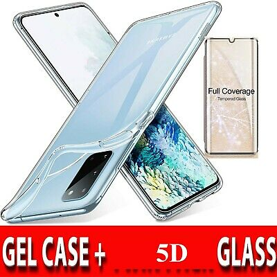 CLEAR Case For Samsung Galaxy S10 Plus S10e S9 S8 A10 A8 J6 Silicone Gel Shock